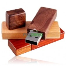 USB Flash Drive Style Wood